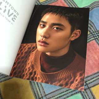 SMTOWN Live World Tour VI Brochure (EXO D.O., Baekhyun, Chen, Kai)
