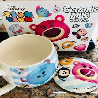 Disney Tsum Tsum 瓷有蓋杯