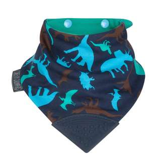 Cheeky Chompers Neckerchew Bib- Dino Friends