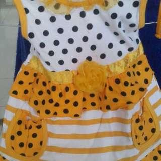 Dress kuning #ImlekHoki