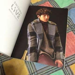 SMTOWN Live World Tour VI Brochure (EXO Chanyeol, Xiumin, Suho, Sehun)