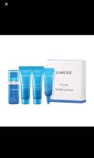 Laneige Water Bank Trial Kit/ moisture care trial kit(4 items)
