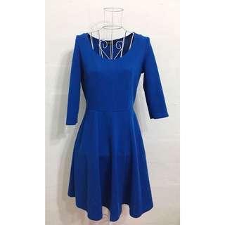 Dorothy Perkins Skater Blue Dress