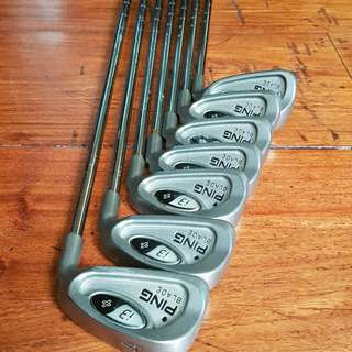Price change: Golf Set Ping i3 plus blade black dot irons