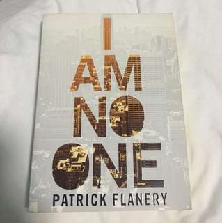 Fiction Book - I Am No One by Patrick Flanery