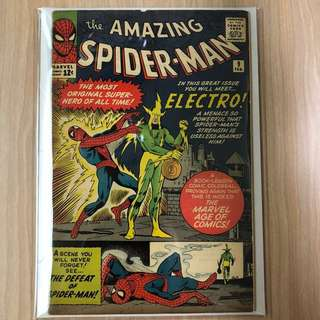 MARVEL COMICS The Amazing Spider-Man #9-Origin & 1st Appearance of Electro (Serious Buyers Only)