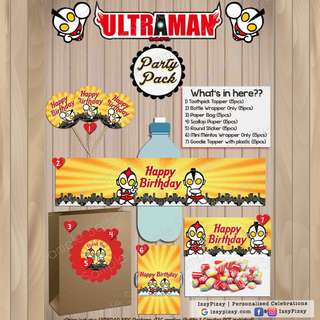 Ultraman Kid's Birthday Party Pack