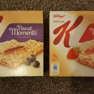 Kellogg's 餅一盒