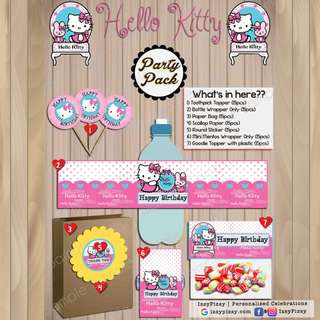 Hello Kitty Kid's Birthday Party Pack