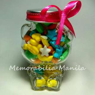 Hello kitty jar giveaway - souvenir for birthday party debut