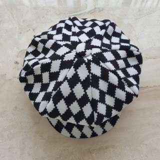 Korean Checkered cap