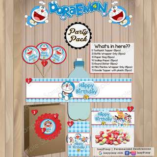Doraemon Kid's Birthday Party Pack