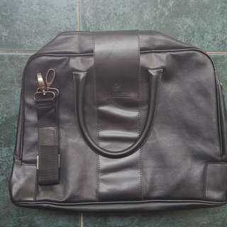 Remy Martin Black leather bag