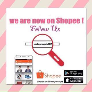 We are now on Shopee !