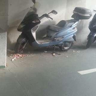 sym 2005 motorbike