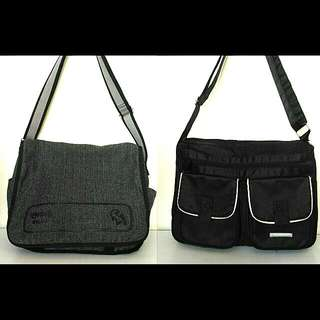 Bench & Dr. Martens Crossbody Bags (Bundle)