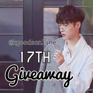 @KGOODSONLINE 17TH GIVEAWAY 🦄