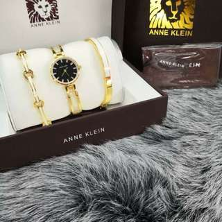 Anne Klein with Bangles
