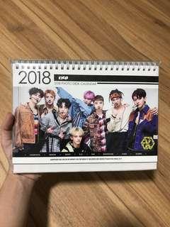 EXO table calendar
