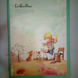 Le Petit Prince A4 Note book