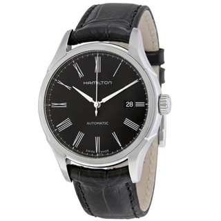 HAMILTON Valiant Automatic Black Dial Men's Watch H39515734