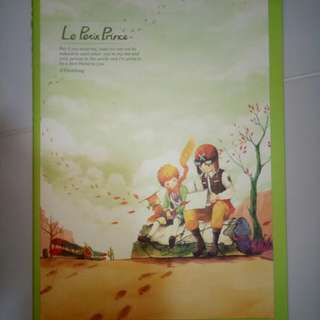 Le Petit Prince A4Note book