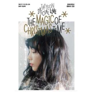 <<代購>>泰妍- Taeyeon Special Live (The Magic Of Christmas Time )