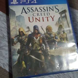Ps4 assassin creed unity