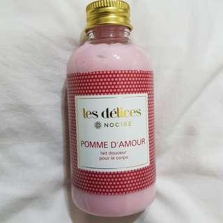 Nocibé Body Moisturizer Pomme d'Amour (Candy Apple)