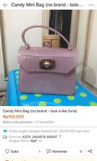 FURLA Candy Mini Look a Like