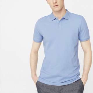 Mango slim fit polo shirt