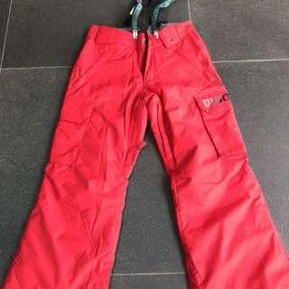 Boys' BURTON snowboarding pants Size SMALL