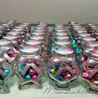Star-shaped Jar Giveaway - Souvenir for Birthday Party/Baptism/Corporate/Etc