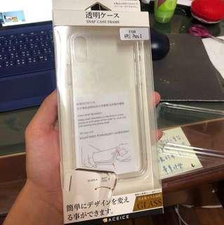 🚚 Iphone x玻璃背蓋手機殼