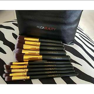 Huda beauty 10 pieces brush set