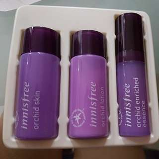 Brand new innisfree orchid skincare kit