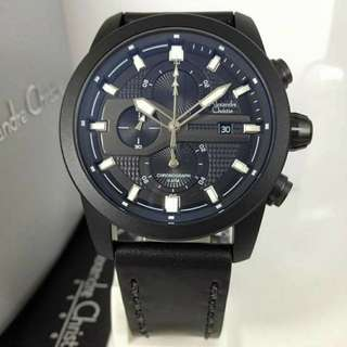 Jam Alexandre Christie AC 6270 Full Black Original