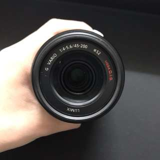 Panasonic Lumix G Vario 45-200mm f/4-5.6 II POWER O.I.S. Lens