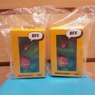 ⛤⛤⛤Last 2 pieces! Exclusive McDonald's X LINE Plush Collectibles