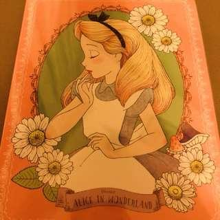 日本正牌Alice in Wonderland memos套裝