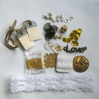 Assorted embellishments