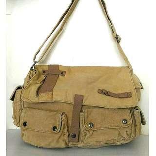 100% Cotton Crossbody Bag