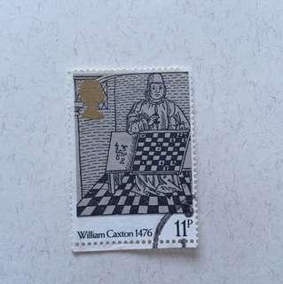 1976 painting 英國郵票一套四款