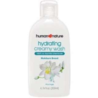 Human Nature Hydrating Creamy Wash
