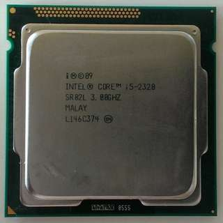 i5-2320 Quad-core + HP motherboard