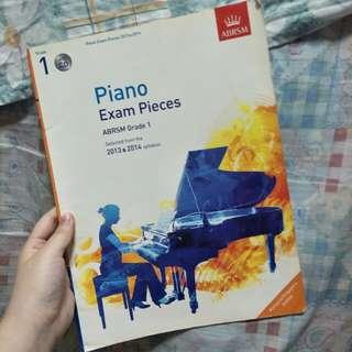 ABRSM grade 1 piano exam pieces (2013-2014) with CD