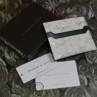 Charles & Keith 雲石紋 卡套 cardholder