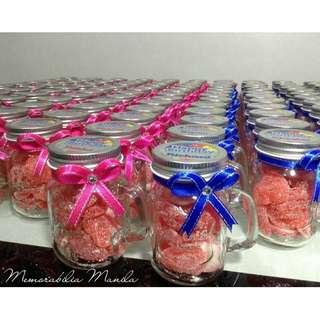 Mini Mason Jar Giveaway - Souvenir for Birthday Party/Baptism/Wedding/Debut/Corporate/Etc