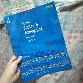 ABRSM Grade4 Piano Scales & Arpeggios (from2009)