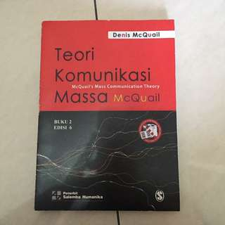 Teori Komunikasi Massa (buku 2) - mcquail